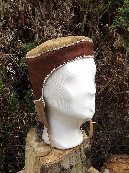 Handwerkerkappe Hand genäht von ca 1200 - 1600