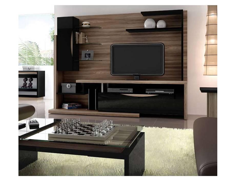 Muebles de entretenimiento para sala minimalista for Muebles de sala