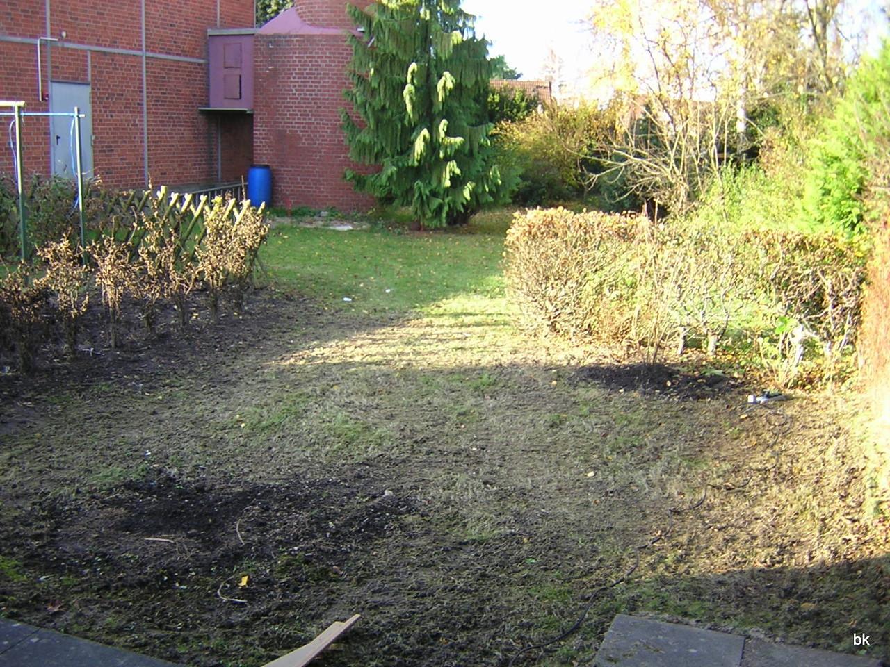 aaaber ... mit Garten ... und super-Sonnen-Wetter (im November !!!)