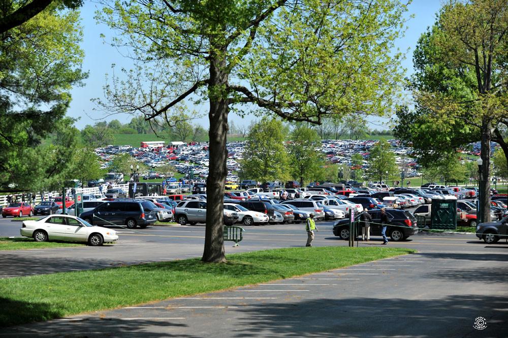 Keeneland parkoló