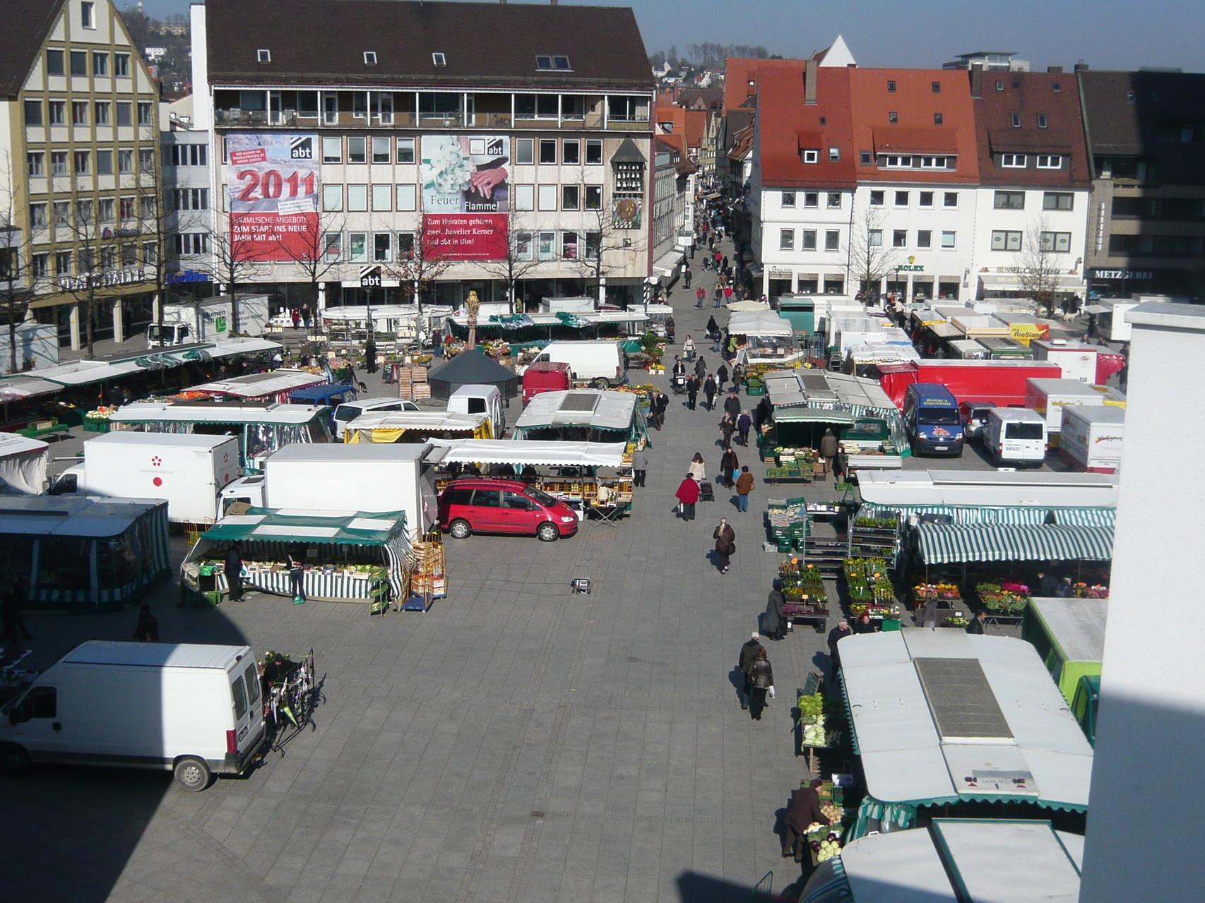 Ulmer Münsterplatz
