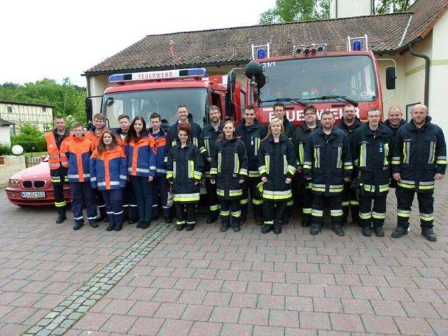 Feuerwehr Untersteinach 2014