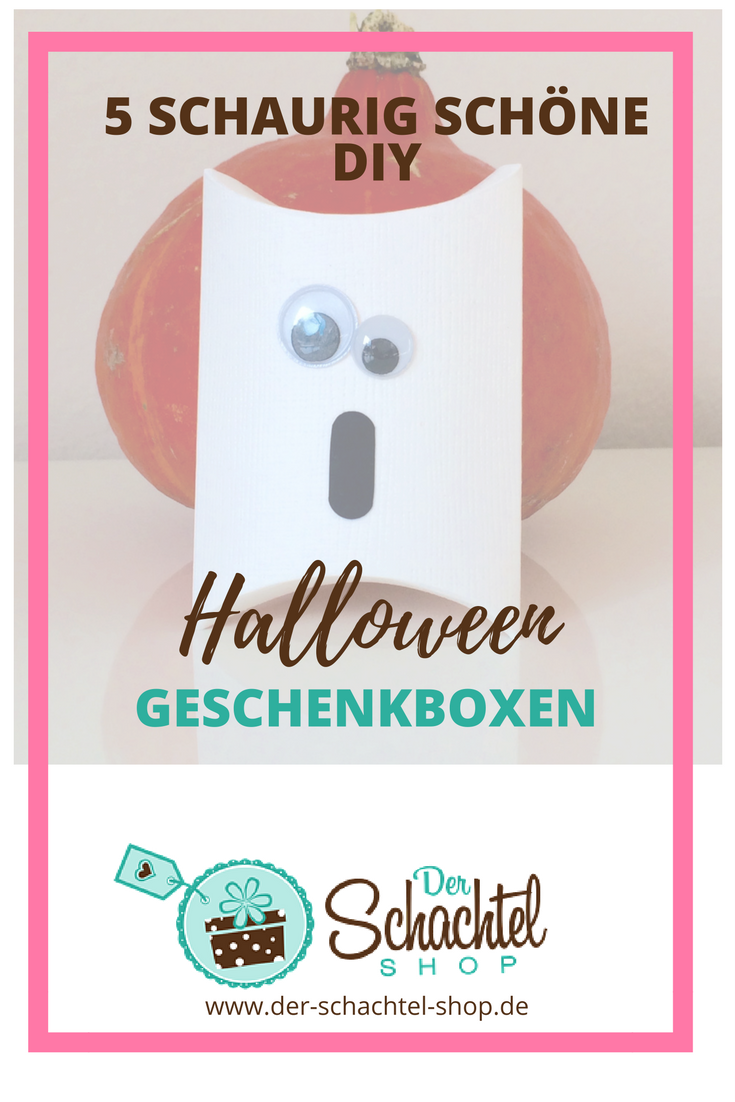 Halloween Schachteln basteln