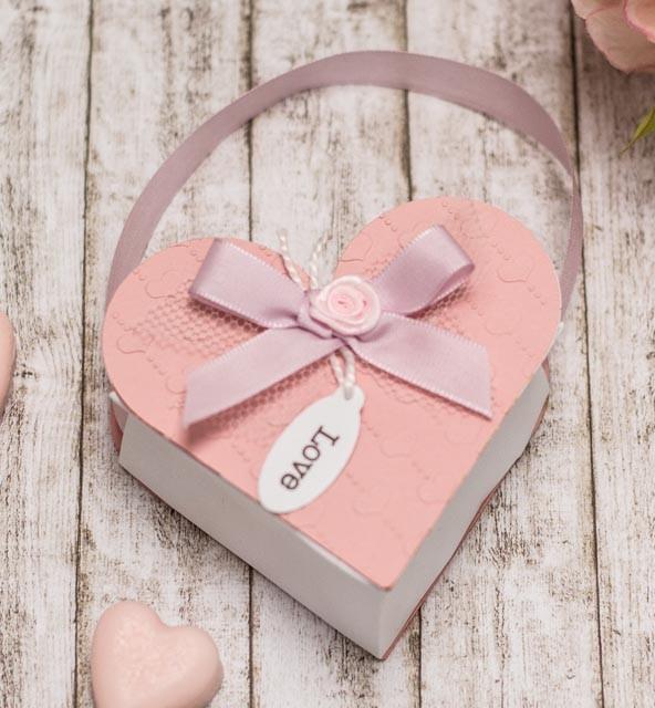 Geschenkschachtel Herz DIY