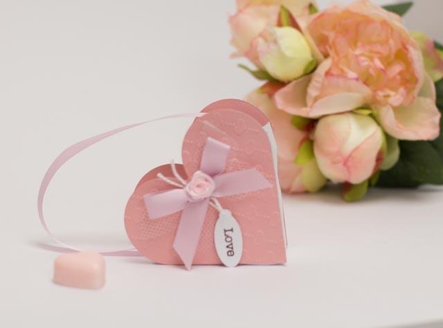 Geschenkkarton Herz