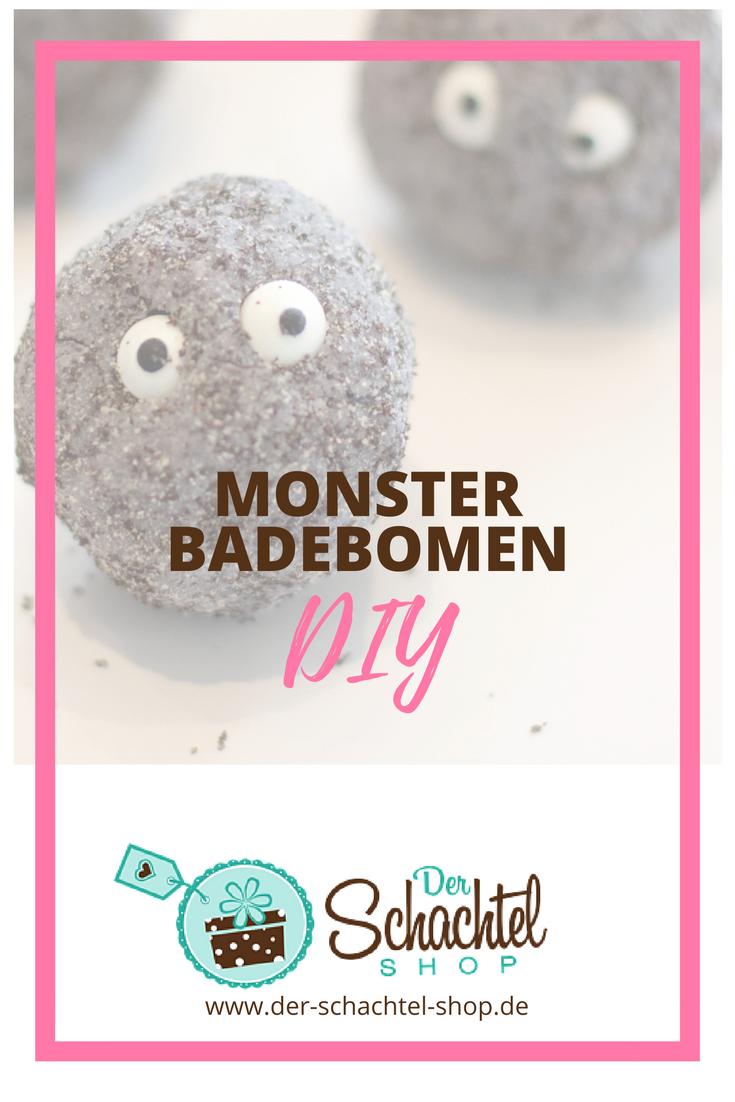 Monsterbadebomen als DIY Geschenkidee für Halloween, oder Adventskalender