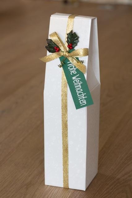 Flaschenverpackung, #Flaschen-Geschenkschachtel #Geschenkschachtelweiß