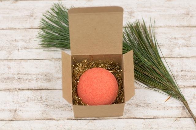 #Geschenkidee #Verpackung #Geschenkschachtel #Weihnachten #Badebomben