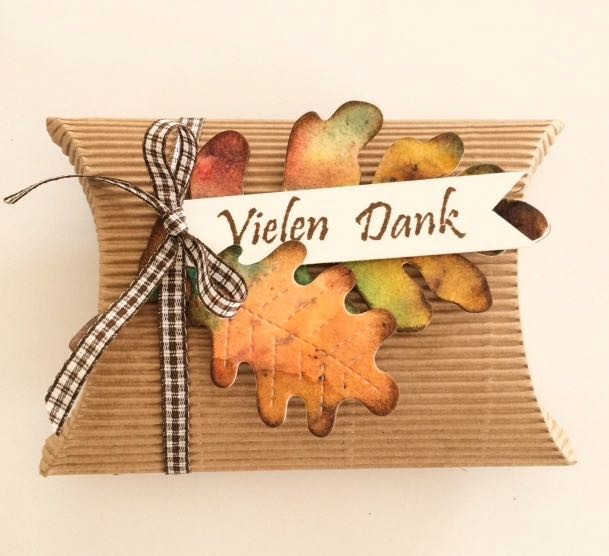 Pillow Box Herbst