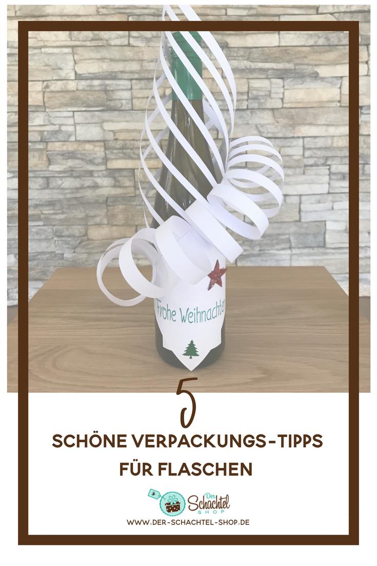 5 schöne Verpackungs-Tipps für Flaschen