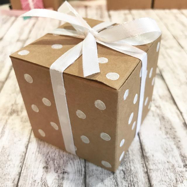 Kraftkarton Geschenkboxen
