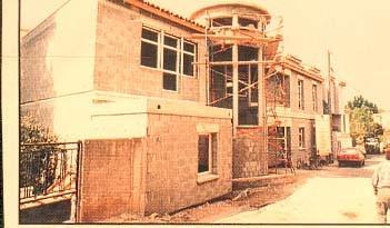 Chantier en mai 1995