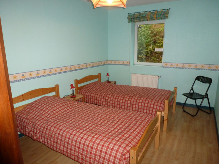 L'Indigo: la chambre verte, 2 lits simples