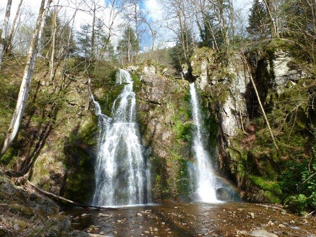 les cascades de Wildenstein