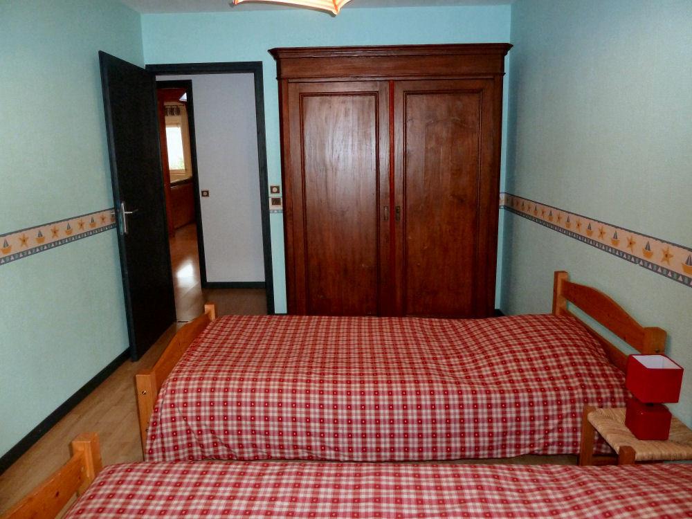 L'Indigo : la chambre verte, 2 lits simples