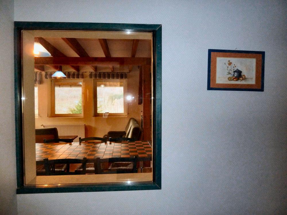 L'Indigo : un couloir sépare le séjour des chambres