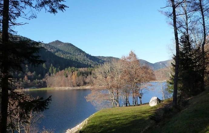 lac de Kruth: baignade, pédalos, arbre en arbre.....