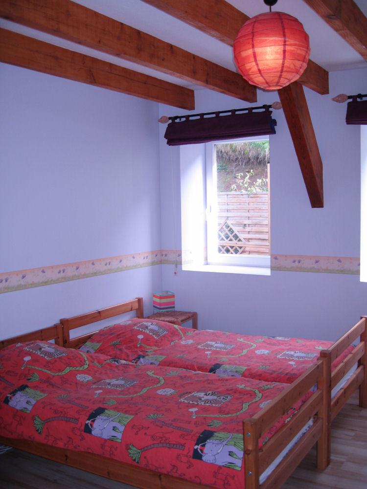 chambre parme 2 lits simples