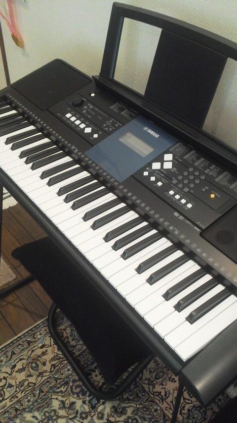 2012.9より新加入のキーボード  小さいけど機能満載