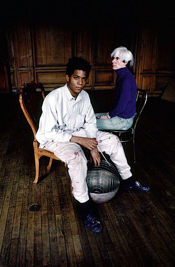 Andy Warhol et Jean-Michel Basquiat