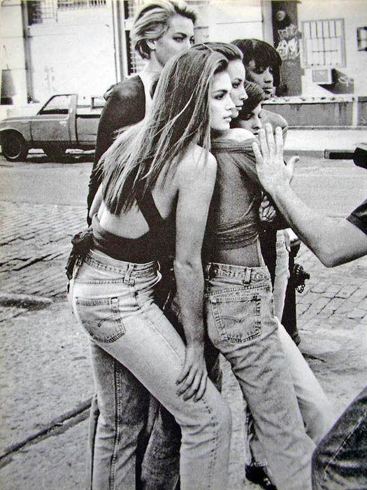 Supermodels for Vogue UK Jan '90 - Peter Lindbergh