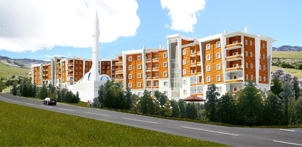 Therme Anlage - Wohnsiedlung & Gesundheitszentrum Afyon TÜRKEI 2011-2012