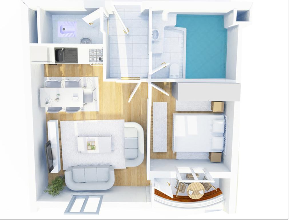 Therme Anlage - Wohnungstyp 2