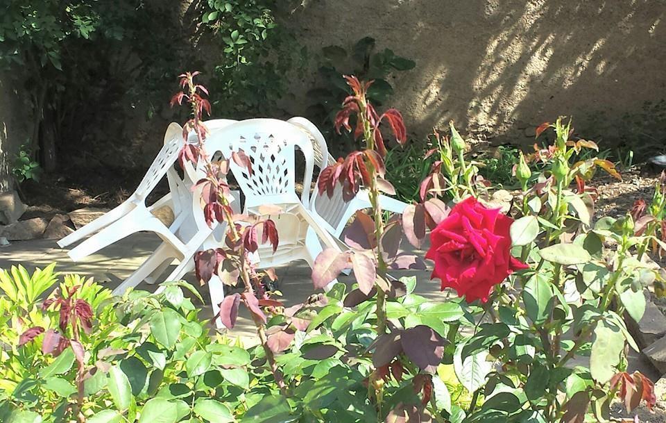 Terrasse mit Sitzplatz