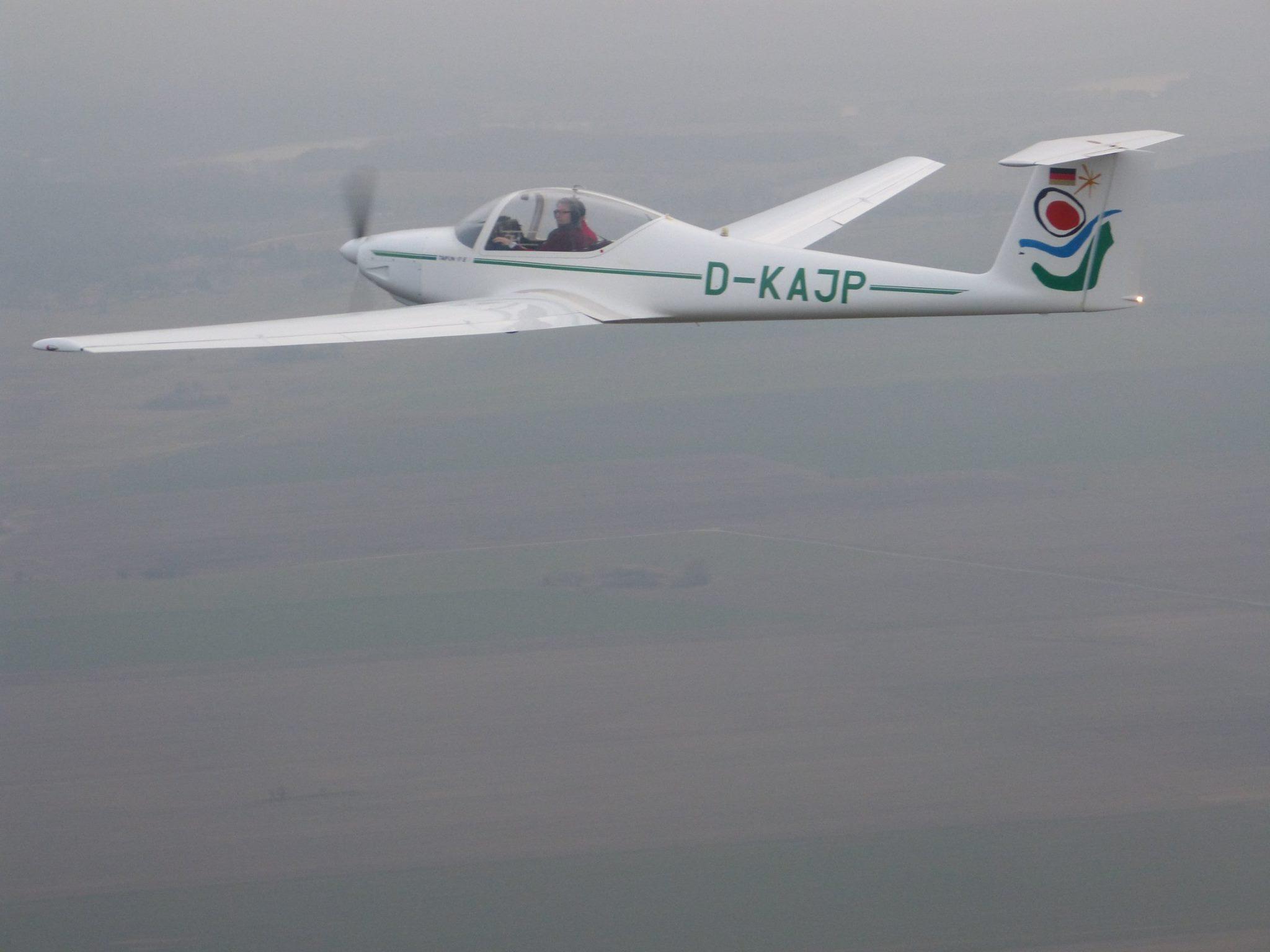 D-KAJP erster Flug im Verein