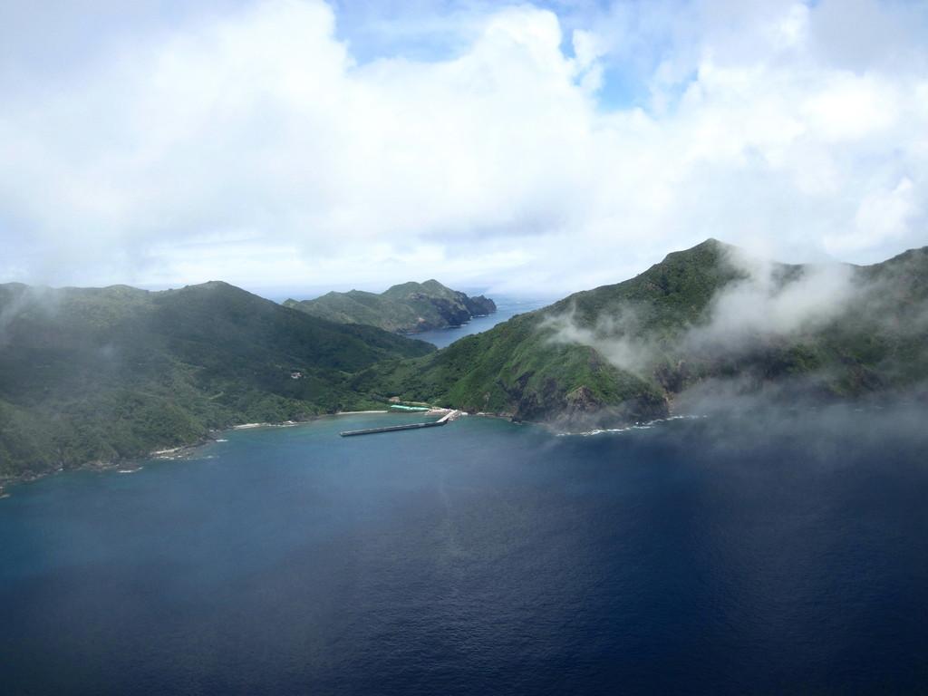 ルート終点から見る東山