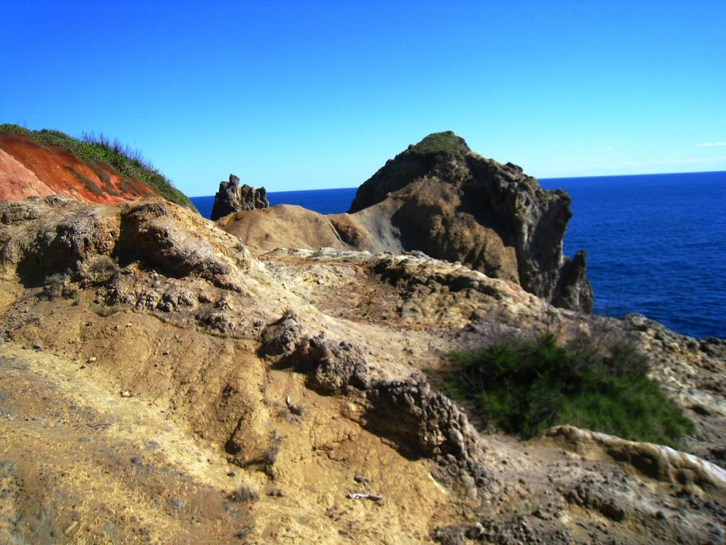 裏高根で見られる奇岩