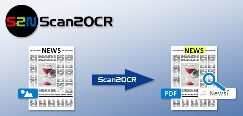 Scan2OCR ermöglicht die OCR Bearbeitung während des Scanvorgangs mit einem Bookeye oder WideTek Scanner.