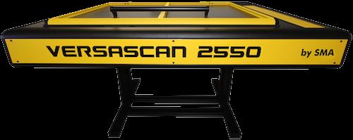 Grossformat Flachbettscanner A1 - Versascan 2550 front