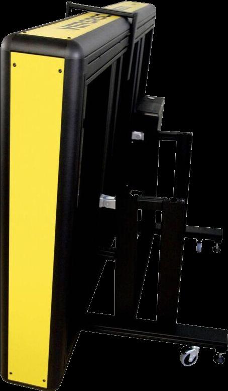 Grossformat Flachbettscanner doppel A0 - Versascan 36100 hochgestellt