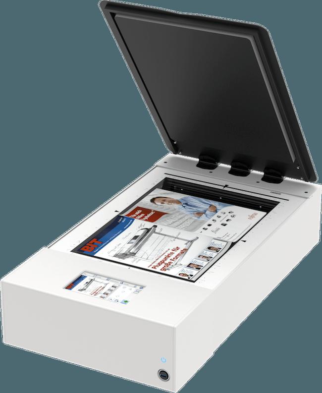 WideTEK 12 Flachbettscanner A3 mit Zeitschrift