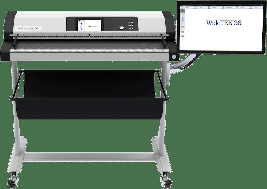 WideTEK 36 Großformatscanner 36 Zoll mit 21 Zoll Touchscreen