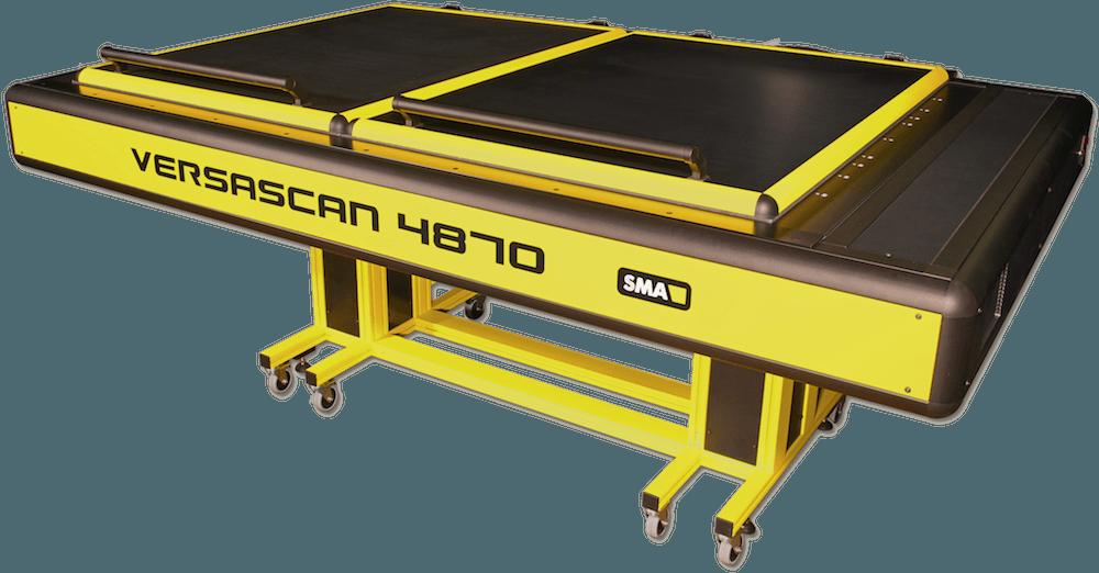 Flachbettscanner doppel AO Versascan 4870
