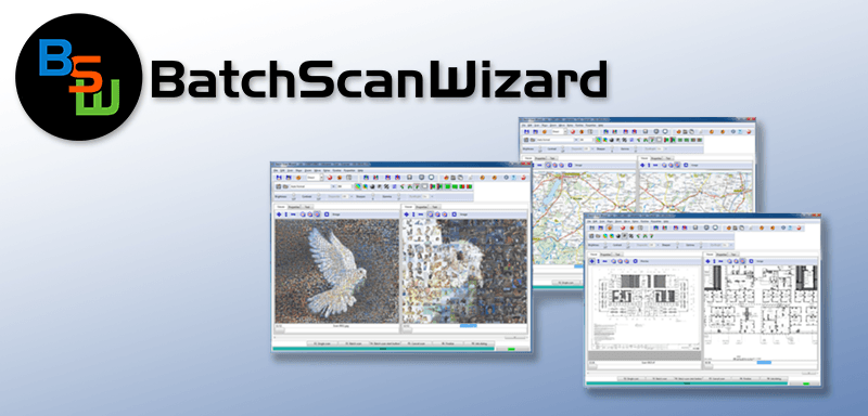 BatchScanWizard - Leistungsstarke Capturing Software Bookeye und WideTek Scanner