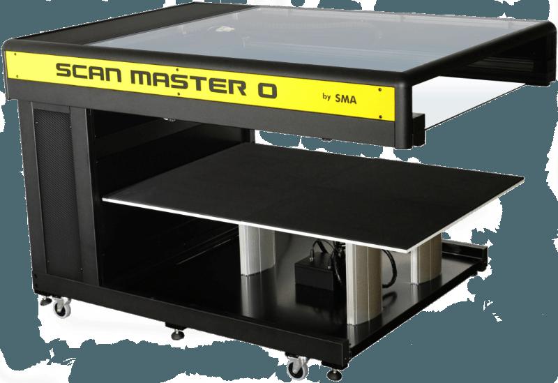 Scan Master 0 Buchscanner A0 flat