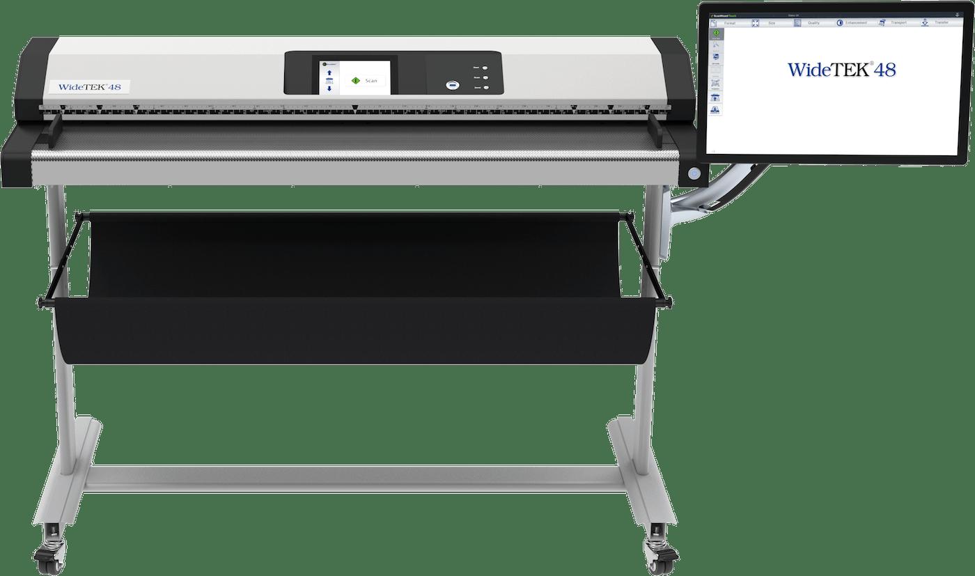 Widetek 48 Grossformatscanner 48 Zoll mit 21 Zoll Touchscreen