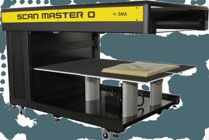 Scan Master 0 Buchscanner A0 mit Buch 1