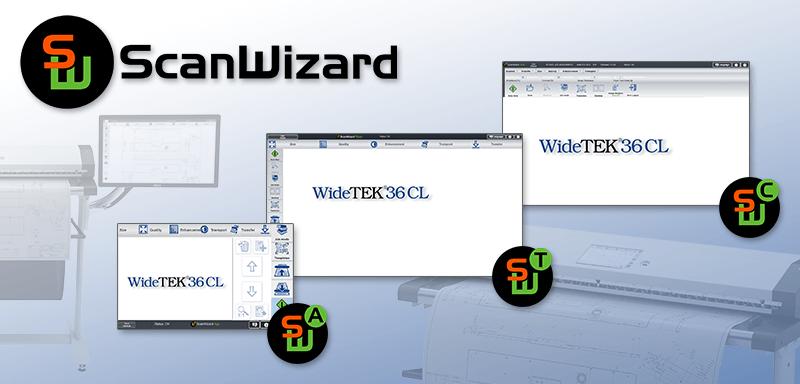 ScanWizard - Scanclient für Bookeye und WideTek Scanner