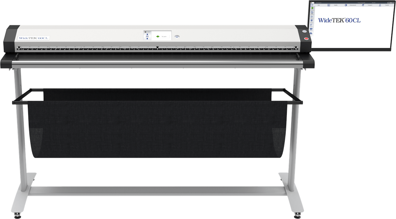 WideTEK 60CL 60 Zoll Grossformatscanner mit 21 Zoll Touchscreen