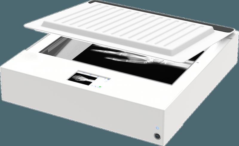 WideTEK 25 Flachbettscanner A2 mit Backlight geschlossen