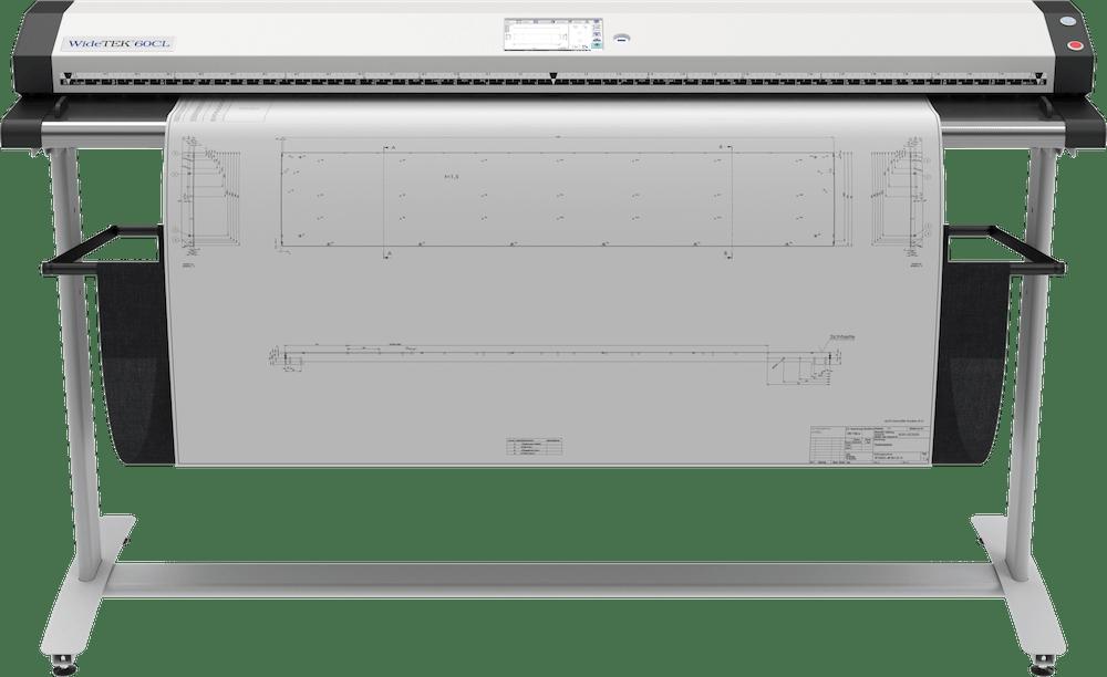 WideTEK 60CL 60 Zoll Grossformatscanner mit Plan