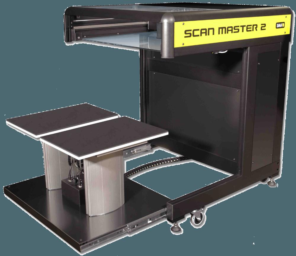 Buchscanner A2 Scan Master 2 offen