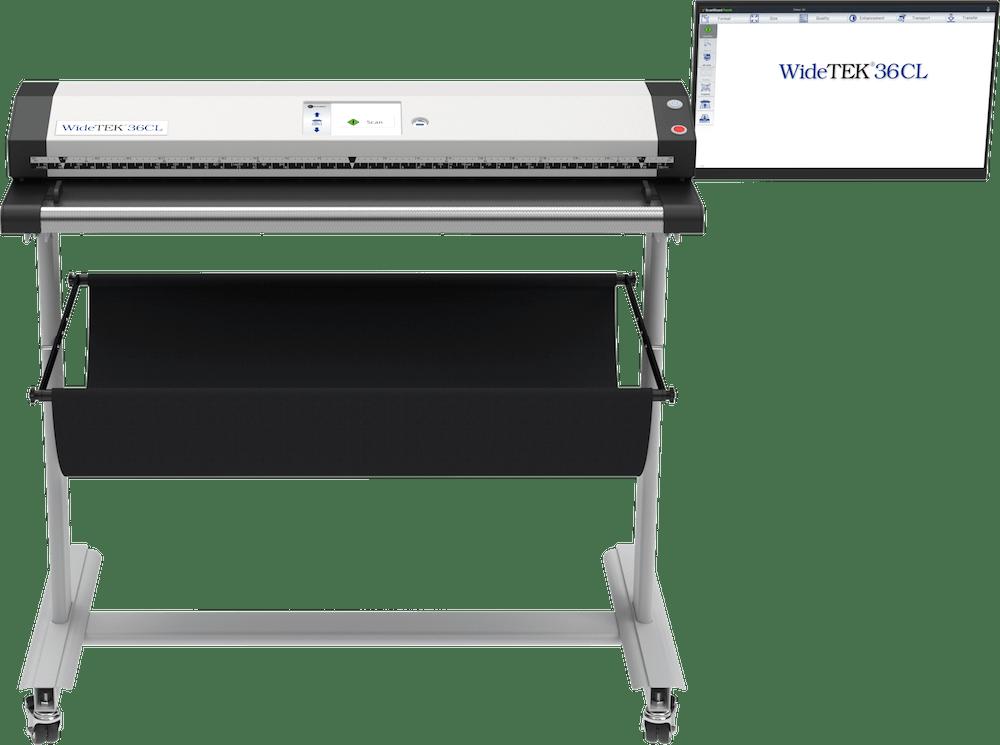 WideTEK 36CL Großformatscanner 36 Zoll mit 21 Zoll Touchscreen