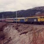 Mi colección de trenes.