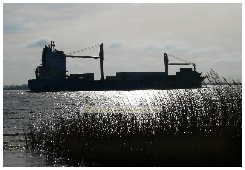 HOOGE auf der Elbe 08.04.2015