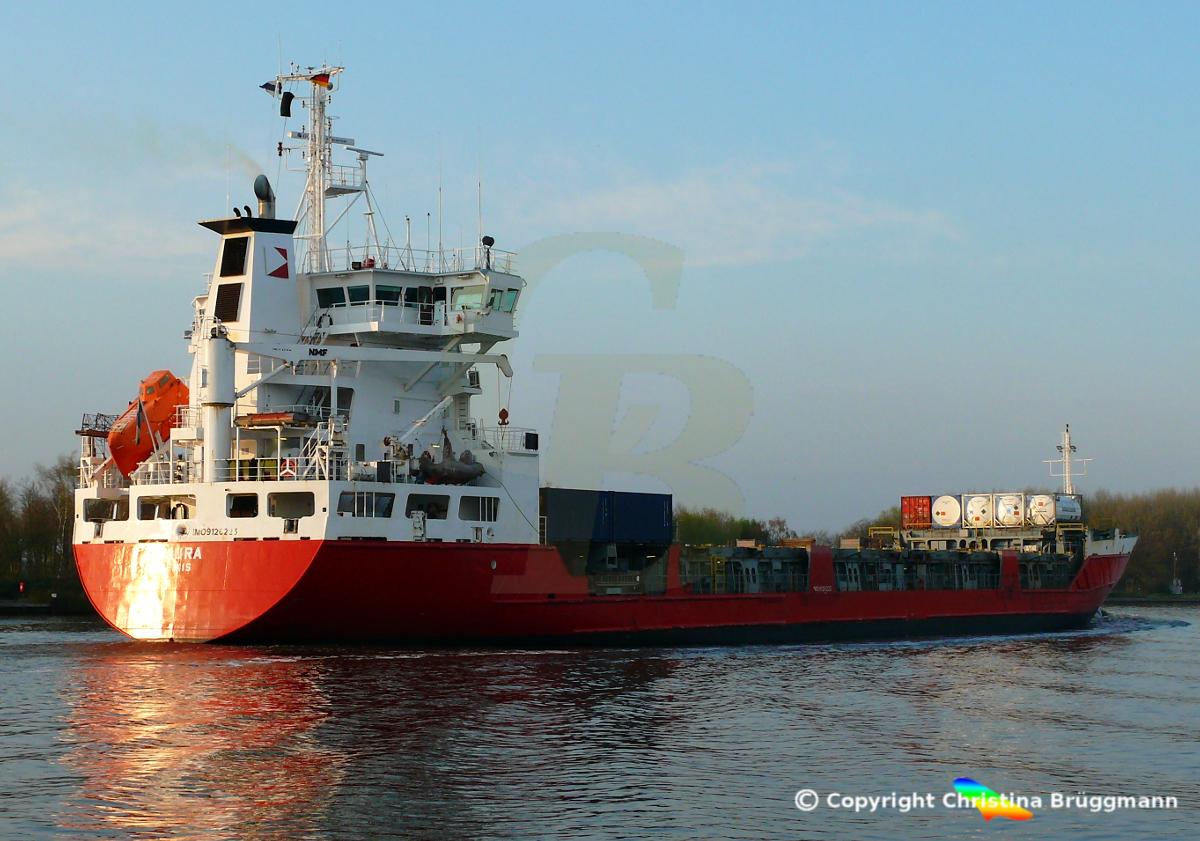 Containerschiff LAURA